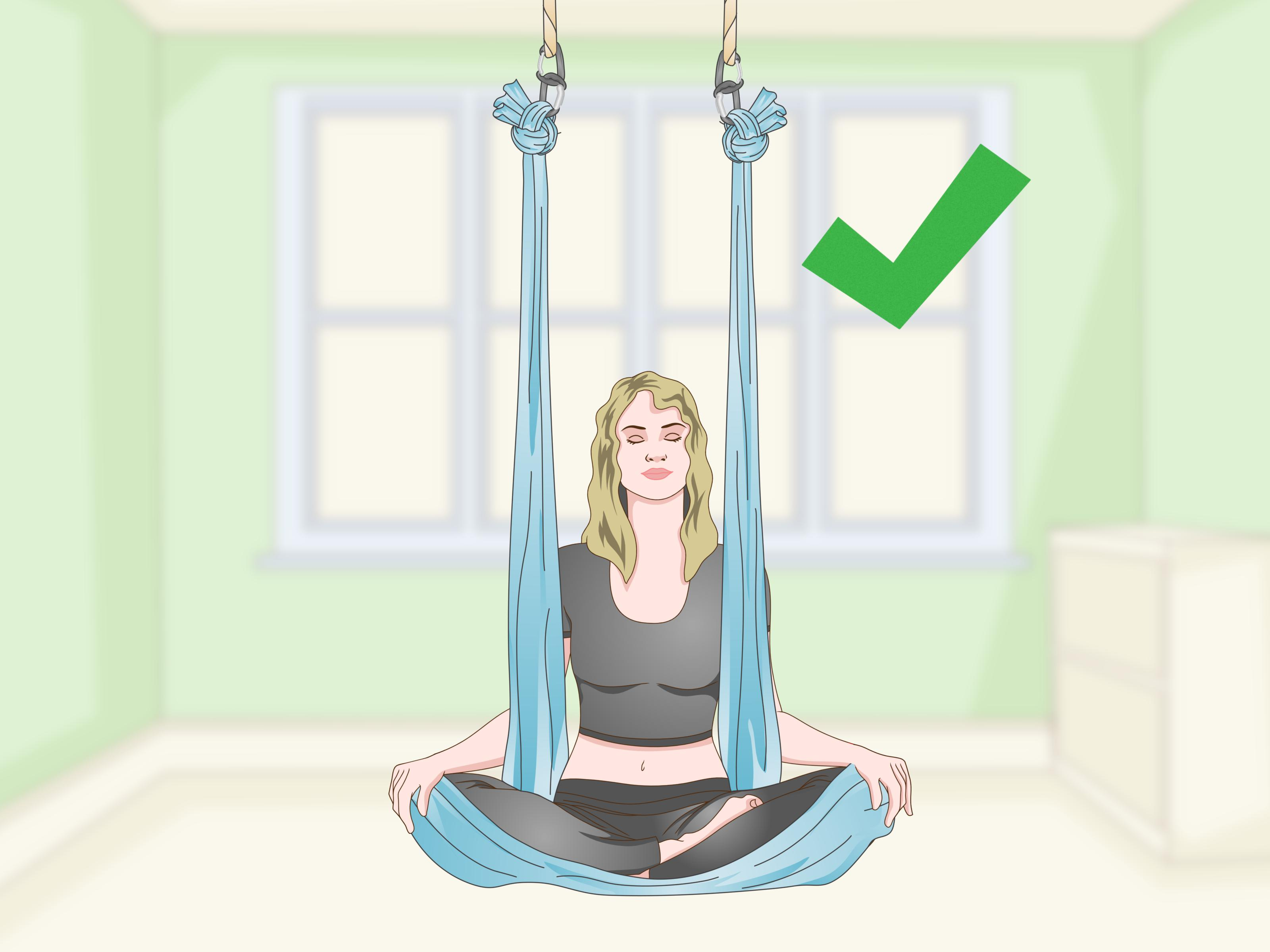 How To Hang Aerial Hammock From Ceiling