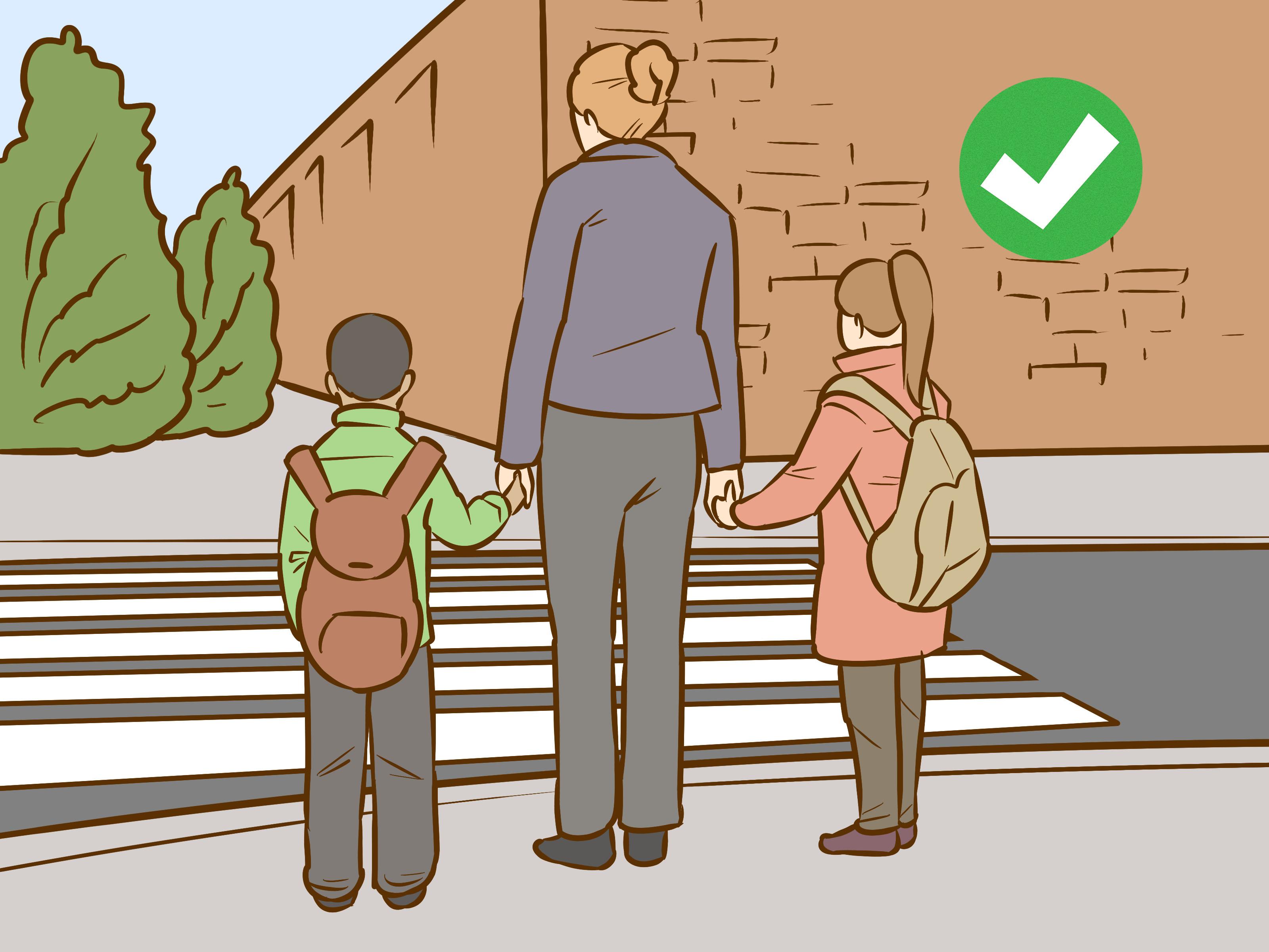3 Ways To Teach Children Basic Street Safety When Walking