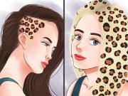 3 ways dye hair with leopard