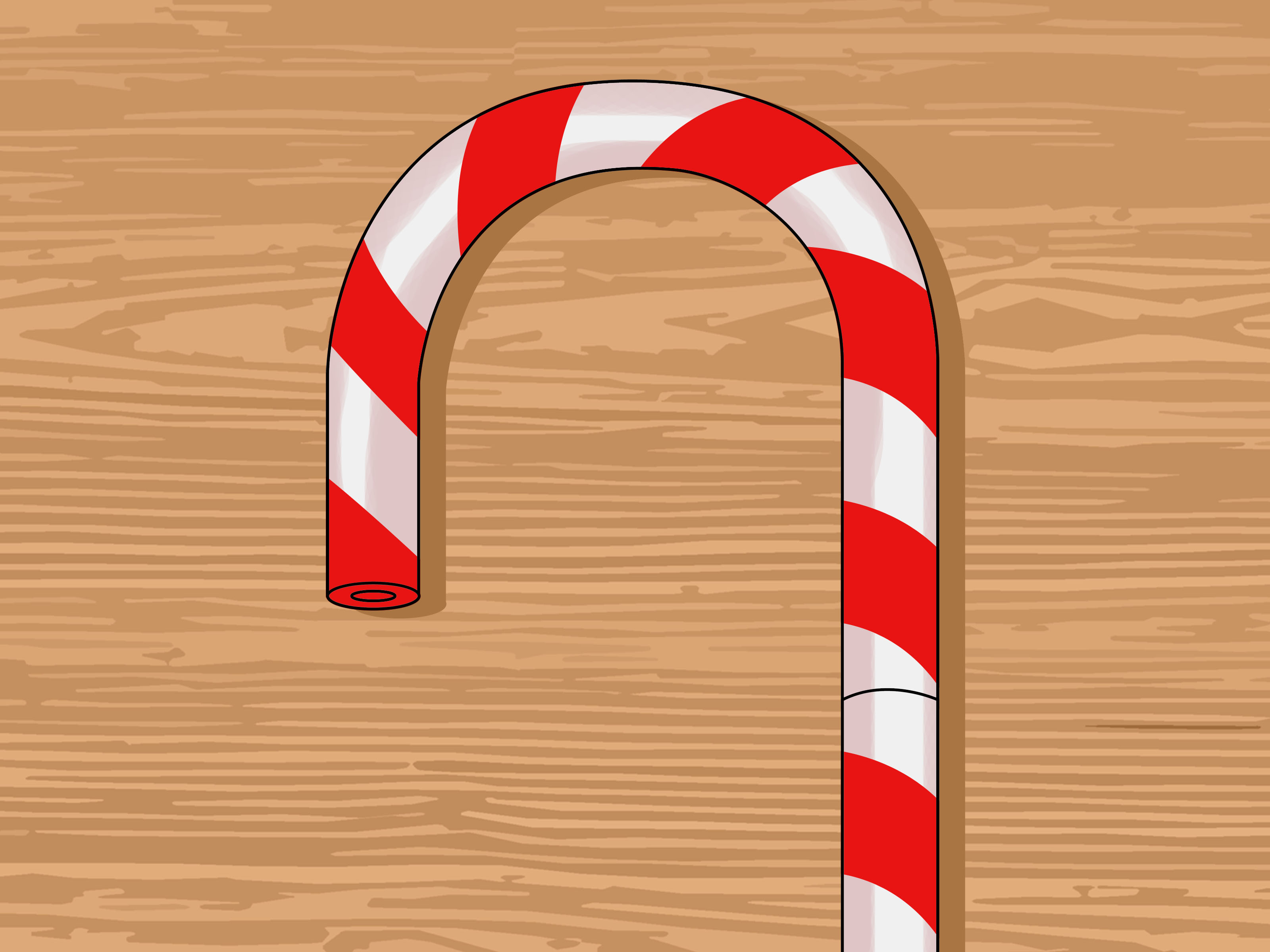 How To Make Giant Foam Candy Canes 10 Steps With Pictures