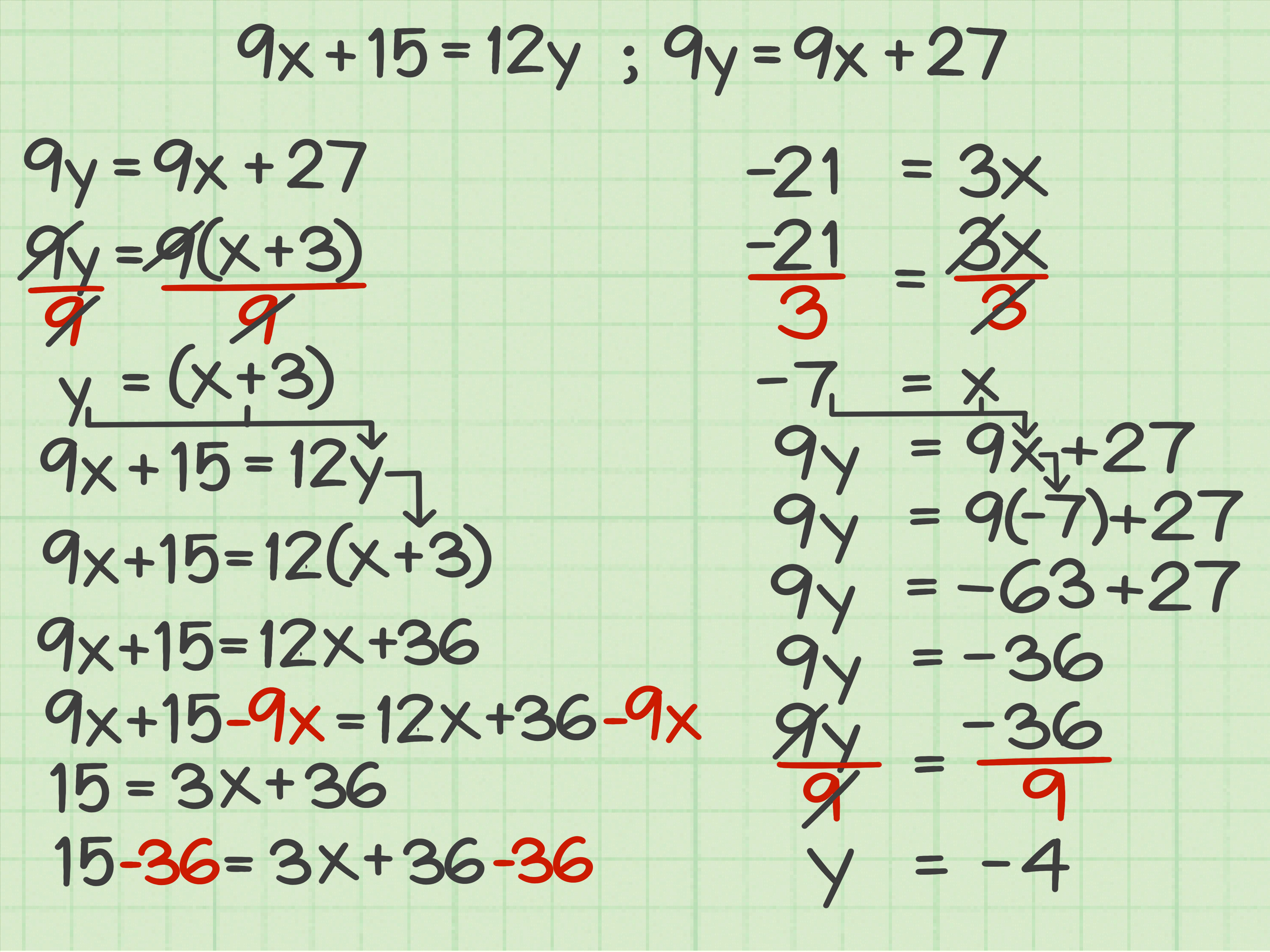 3 Ways To Solve Equations With Variables On Both Sides