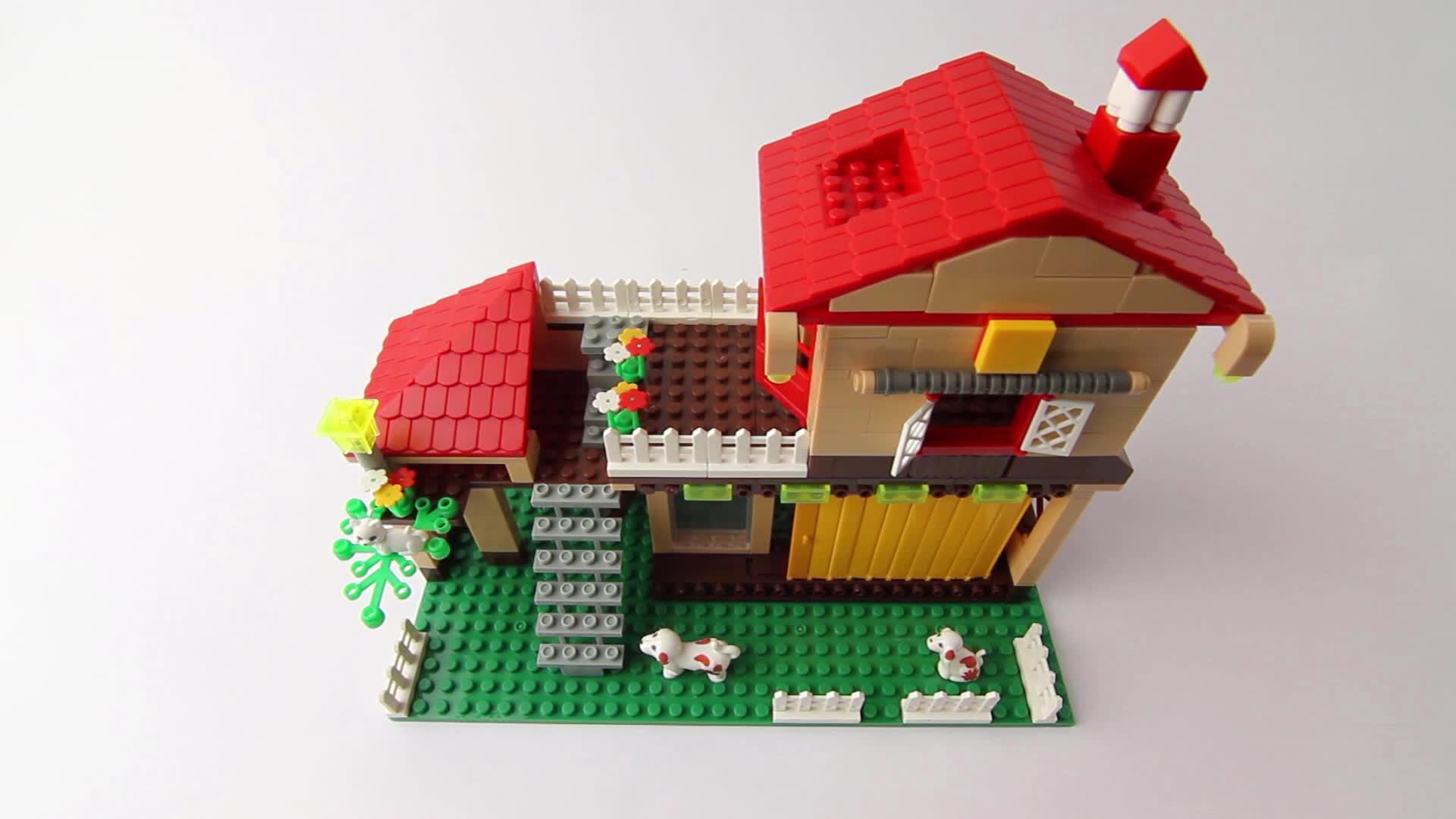 Comment construire une maison en legos 13 tapes