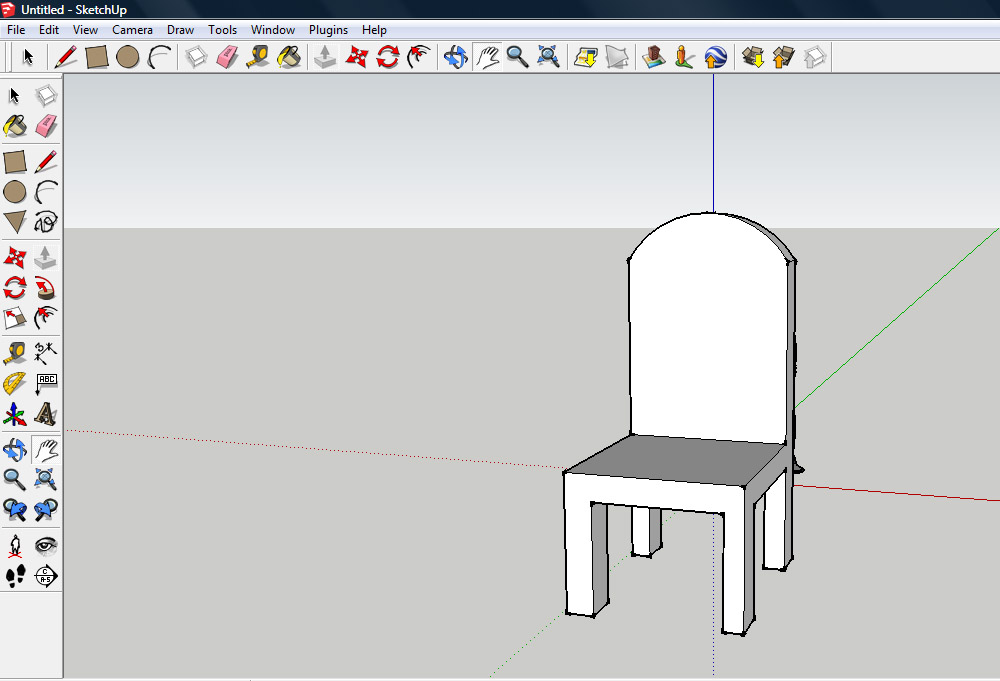 chair design sketchup bungee cord chairs how to make a on 9 steps with pictures wikihow