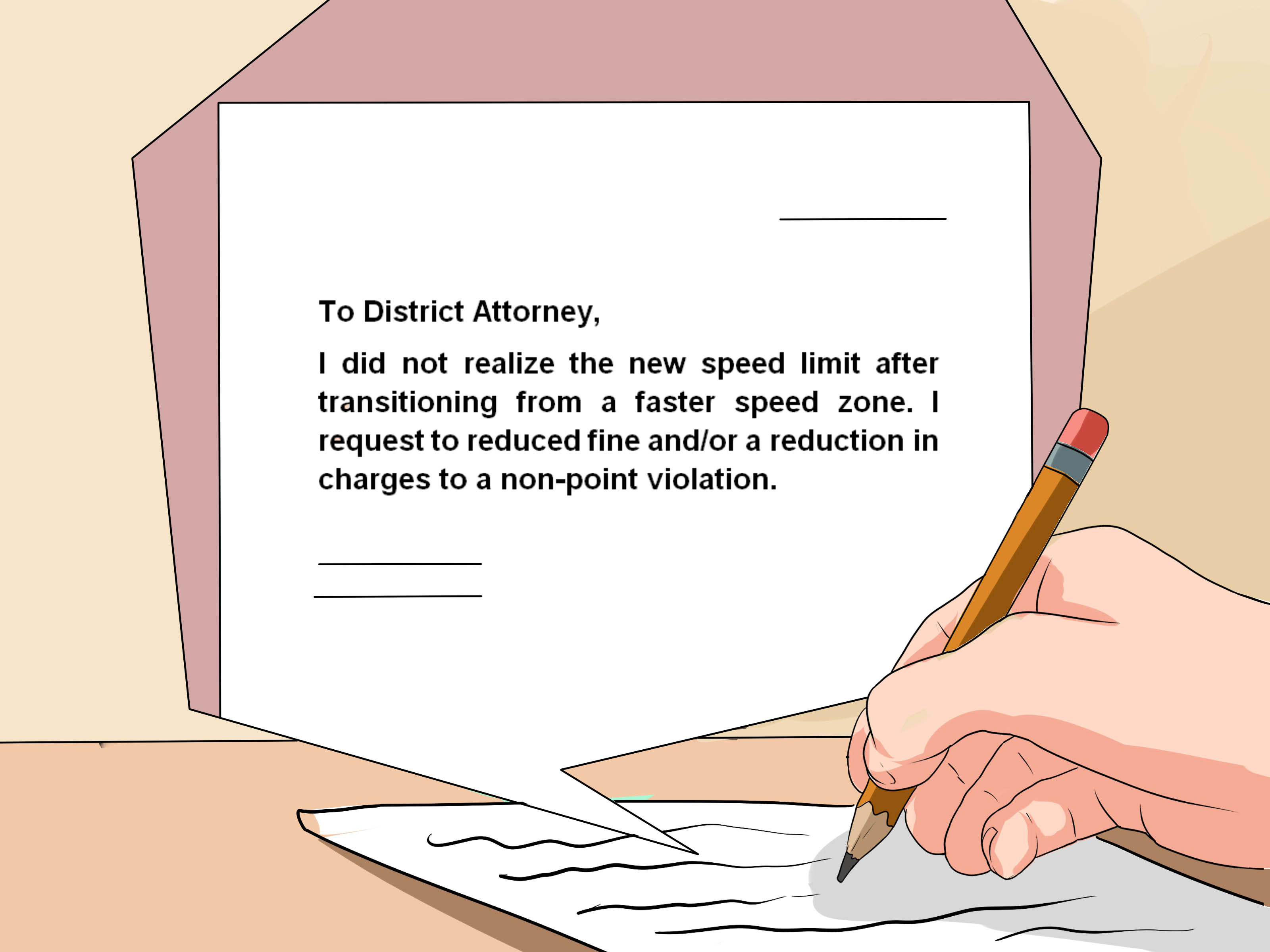 How to Write a Letter to the District Attorney with Pictures
