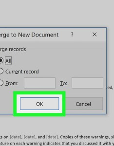 How to mail merge in microsoft word also with pictures wikihow rh