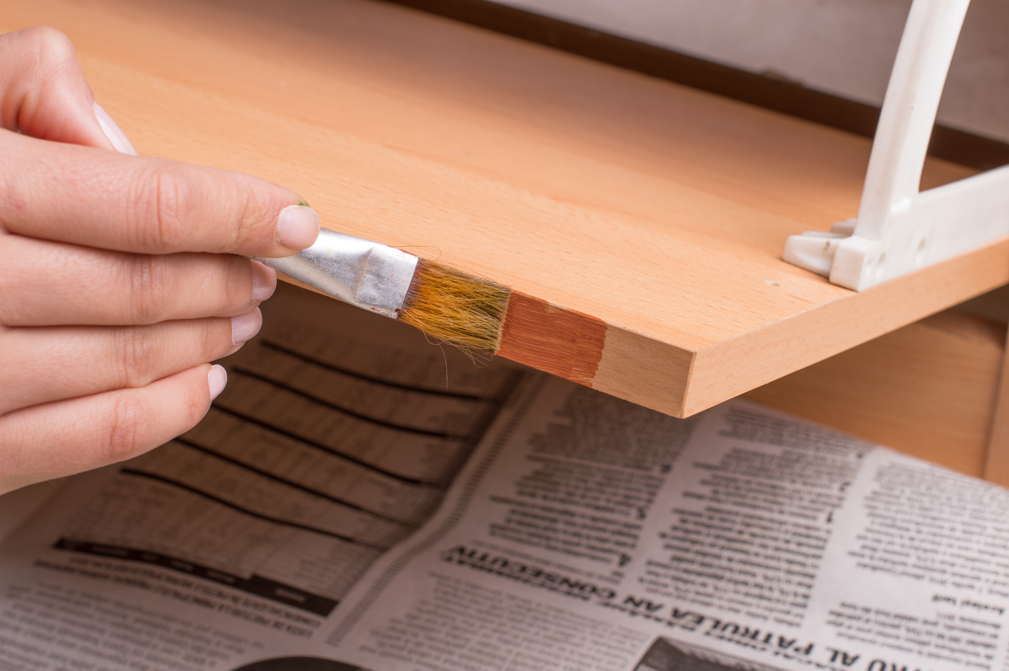 How To Paint Varnished Cupboards 6 Steps With Pictures