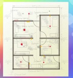 residential electrical plan note [ 3200 x 2400 Pixel ]