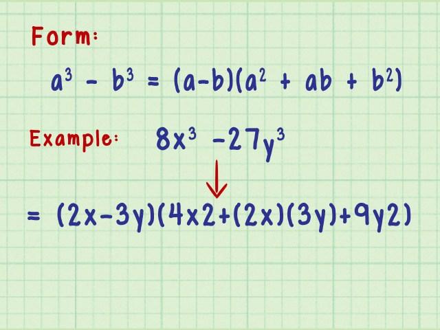22 Ways to Factor Algebraic Equations - wikiHow
