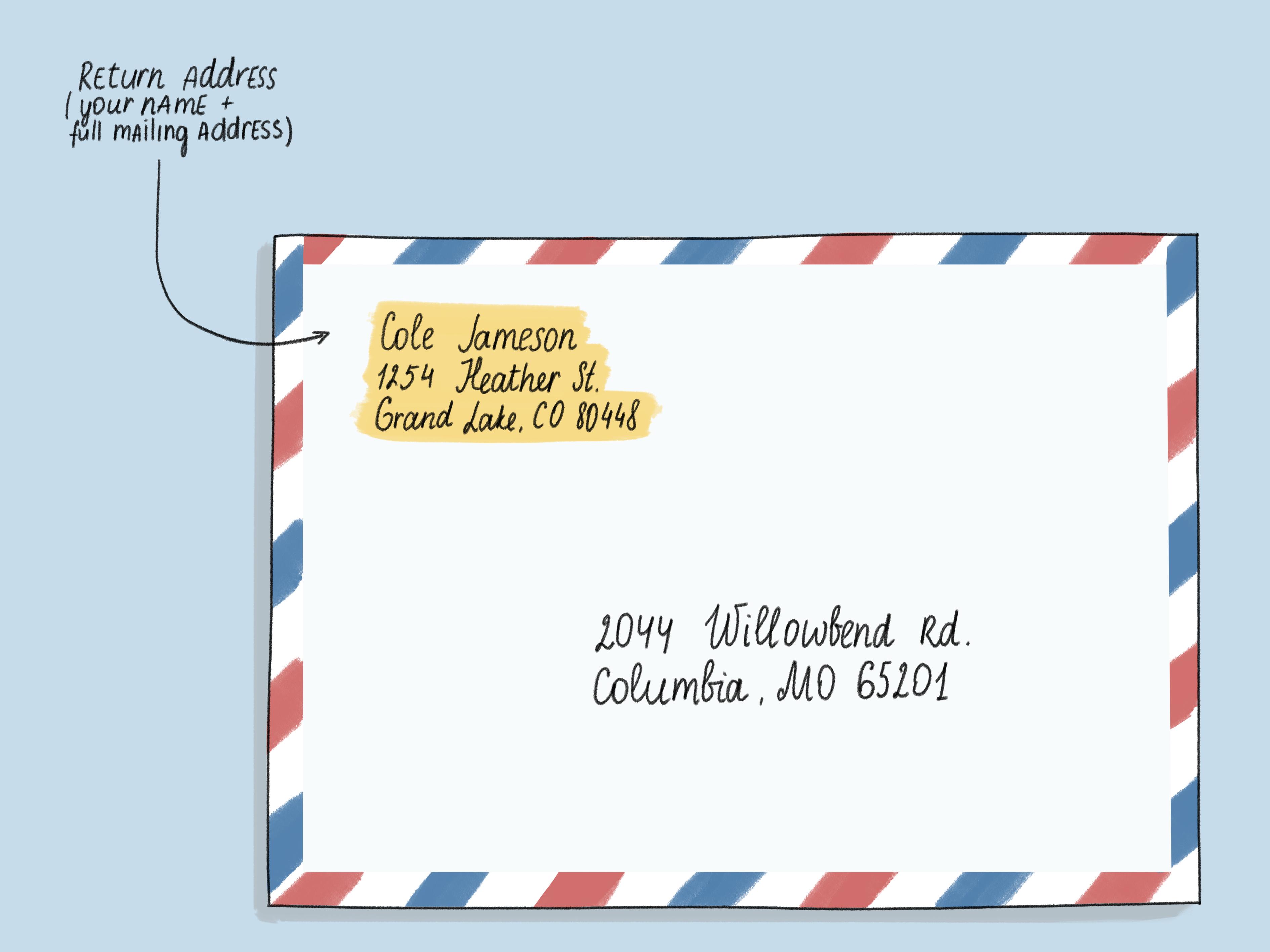Addressing An Envelope
