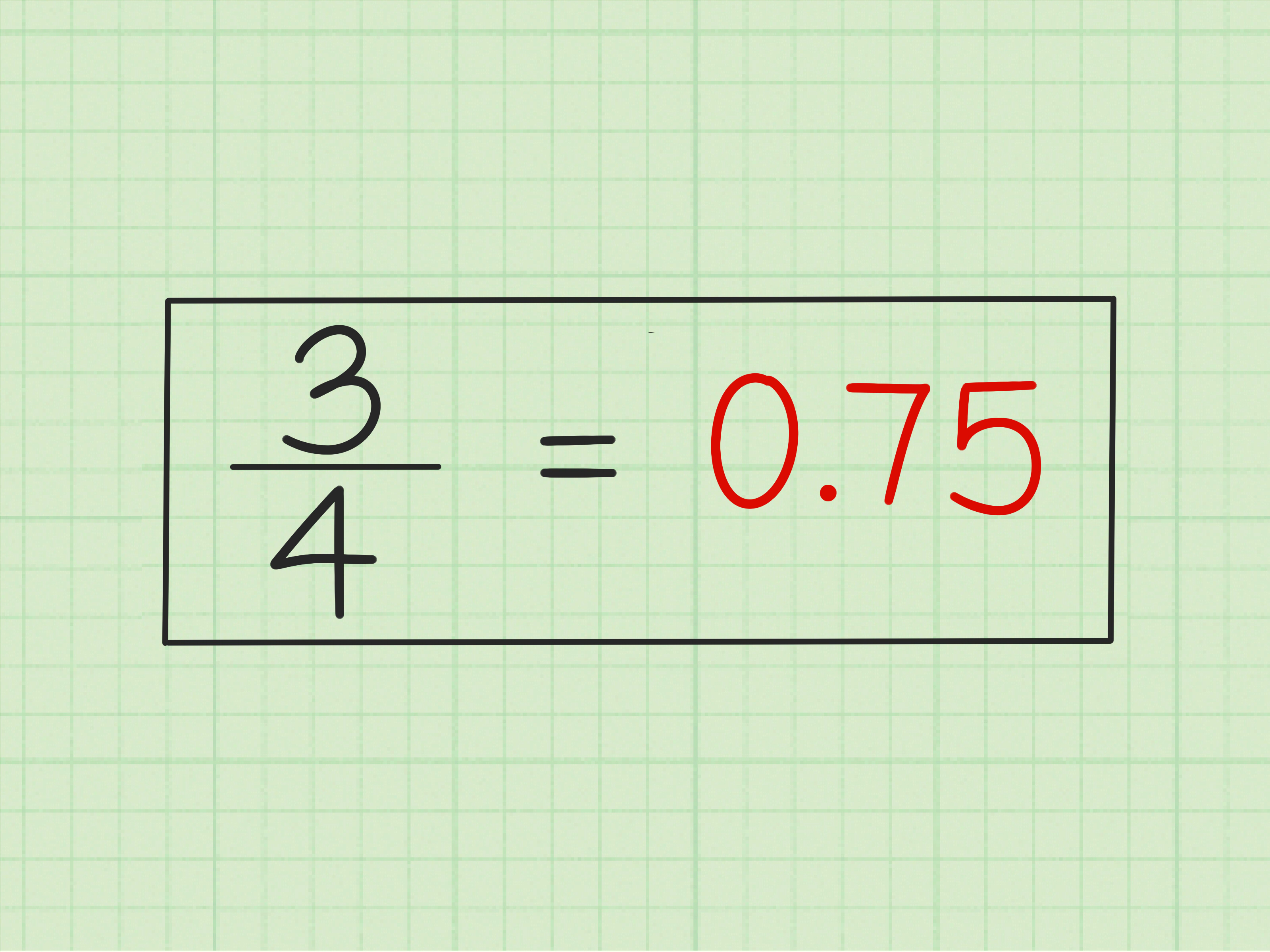 4 Ways To Change A Common Fraction Into A Decimal