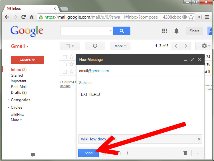 How to Email a Document to Yourself Using Gmail: 10 Steps