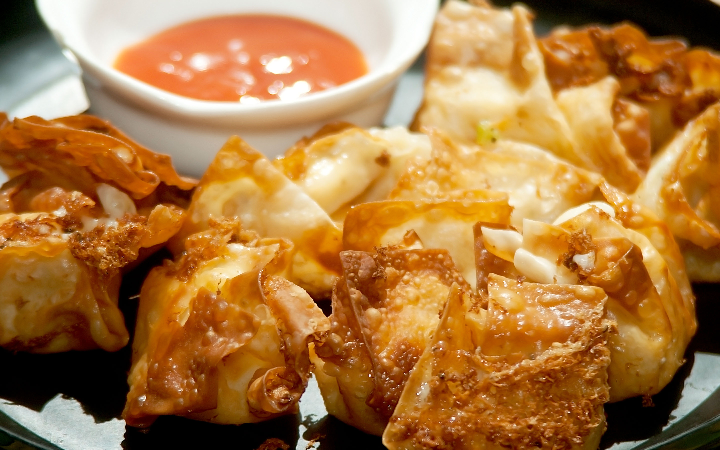 How to Make Crispy Cream Cheese Wontons 5 Steps with