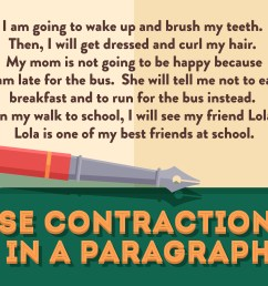 How to Use Contractions: 12 Steps (with Pictures) - wikiHow [ 5000 x 6667 Pixel ]