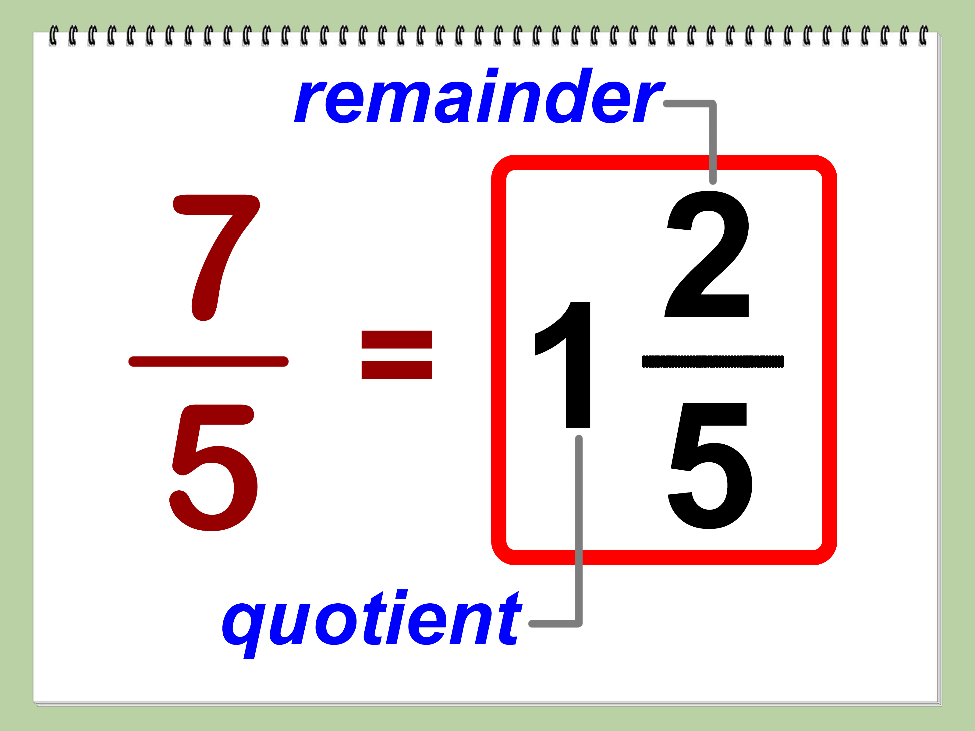 How To Convert Improper Fractions Into Mixed Numbers 9 Steps