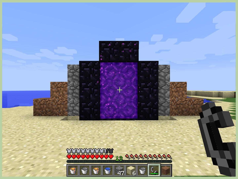 Come Creare un Portale per il Nether in Minecraft