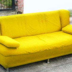 How To Get Rid Of Old Sofa Nyc Chenille And Loveseat Spray Paint Your 14 Steps With Pictures