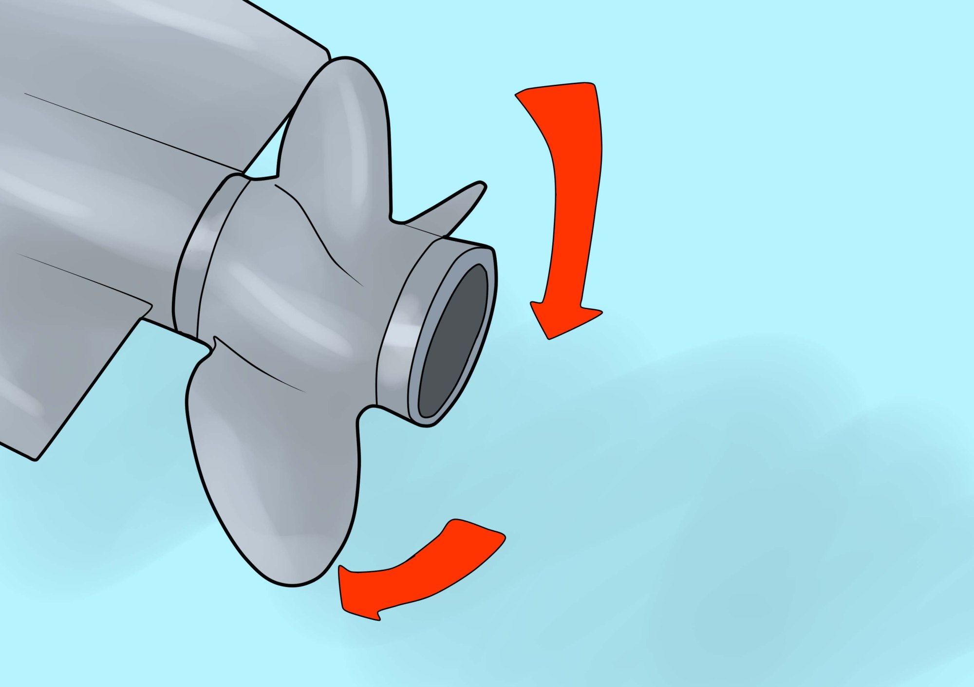hight resolution of how to install your mercruiser propeller