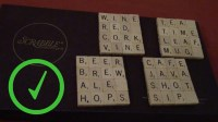 How to Make Scrabble Tile Coasters: 14 Steps (with Pictures)