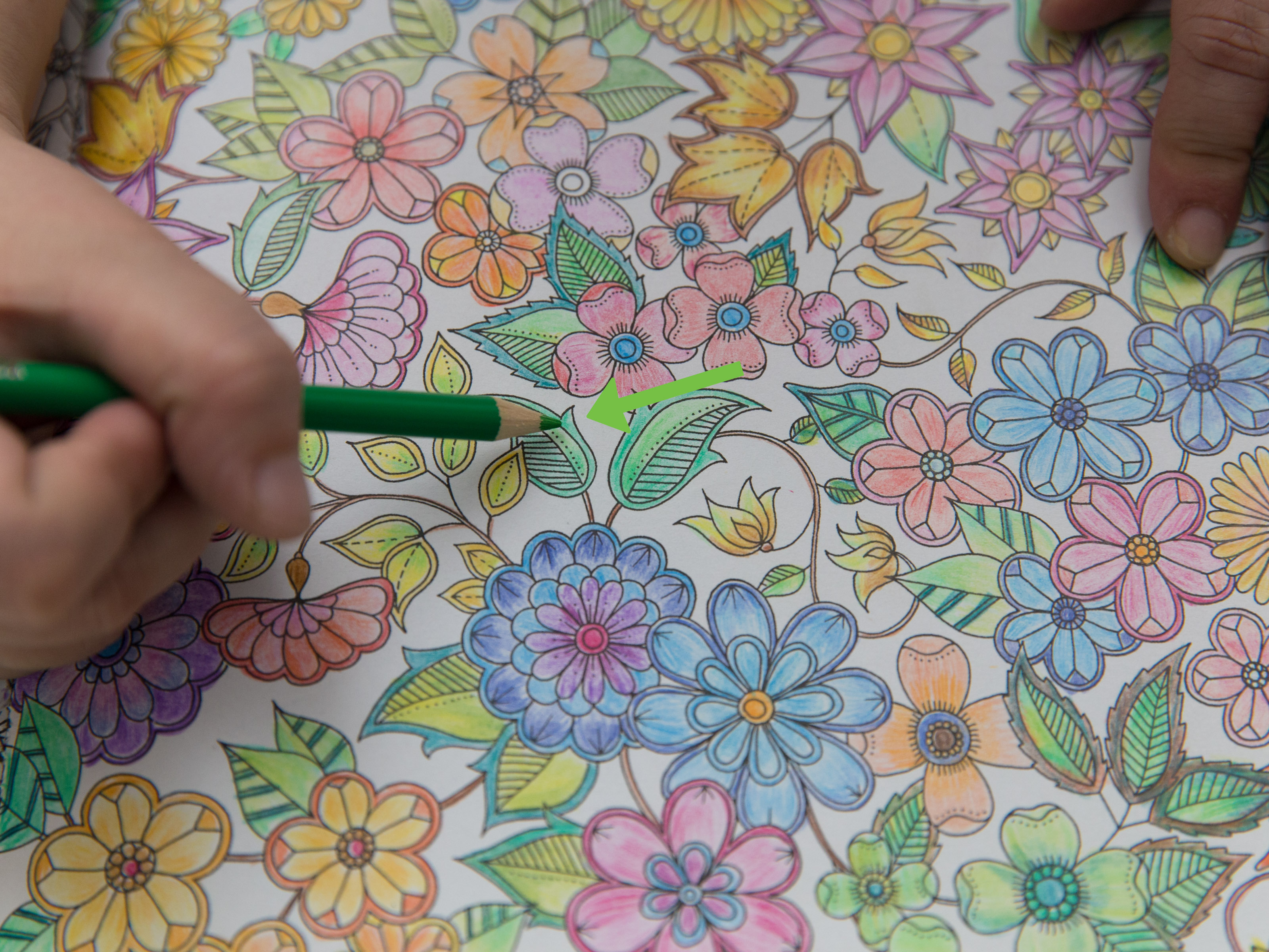 how to color in
