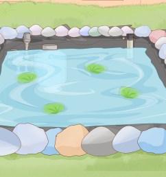 how to make a backyard fish pond [ 3200 x 2400 Pixel ]