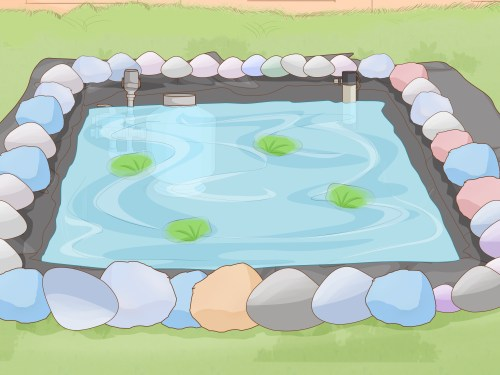 small resolution of how to make a backyard fish pond