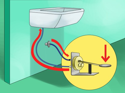 small resolution of how to make foot taps to conserve water