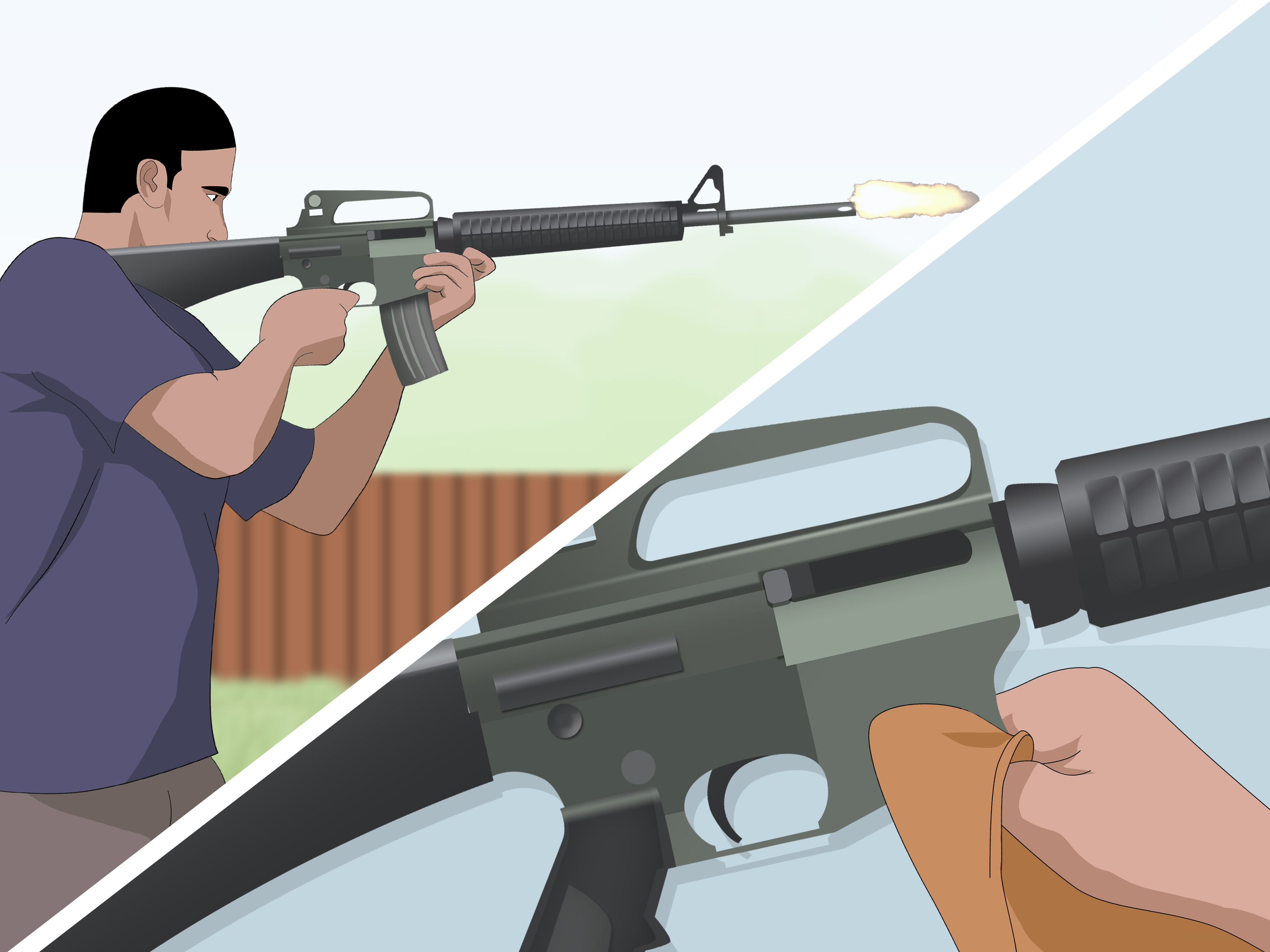 How to Clean an M16AR 15 11 Steps with Pictures  wikiHow