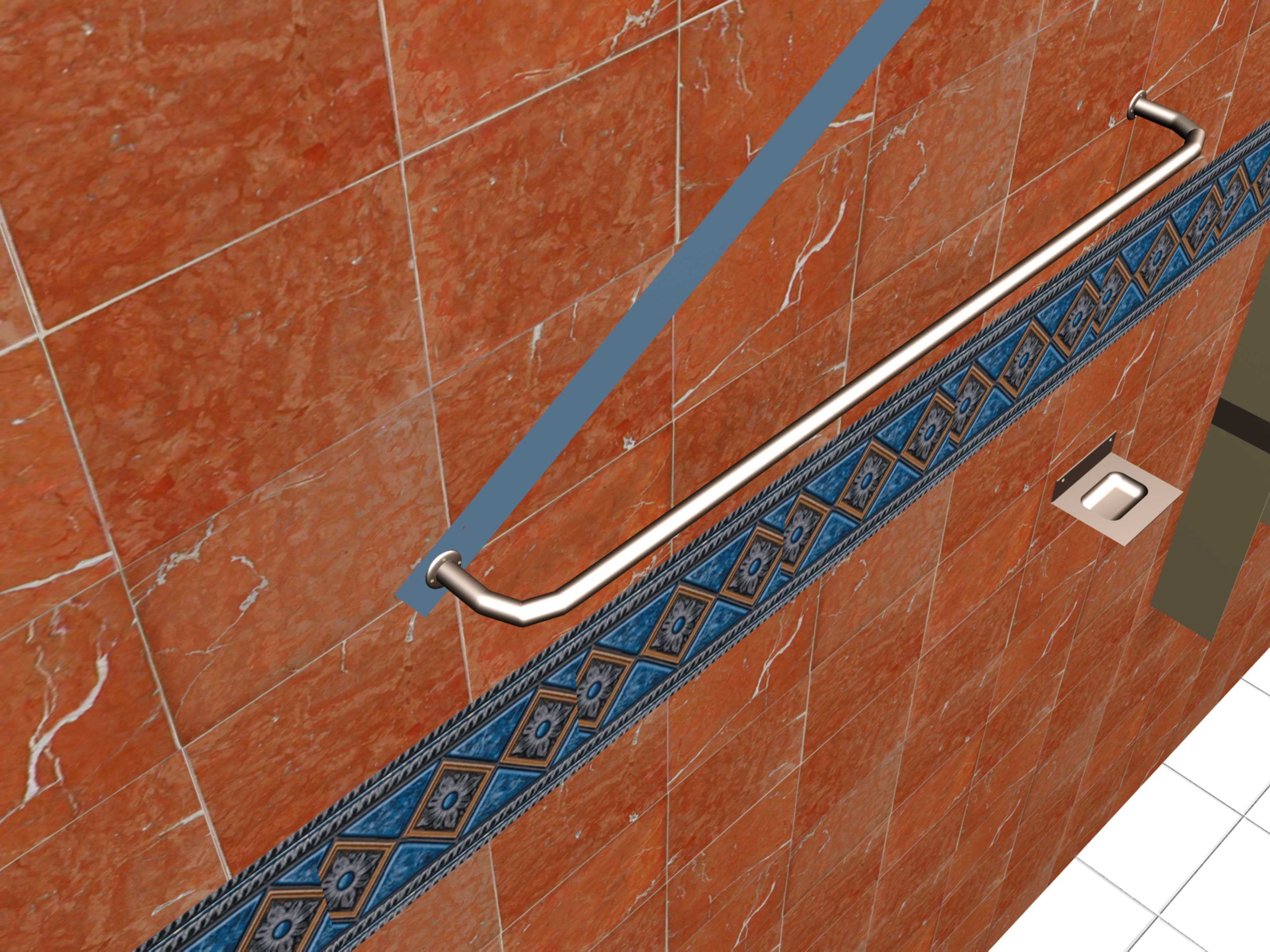 How to Install Bathroom Accessories on Ceramic Tile: 11 Steps