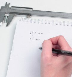 sketch diagram of vernier caliper [ 1280 x 720 Pixel ]