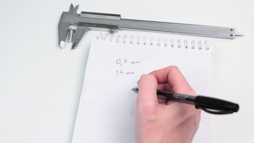 medium resolution of sketch diagram of vernier caliper
