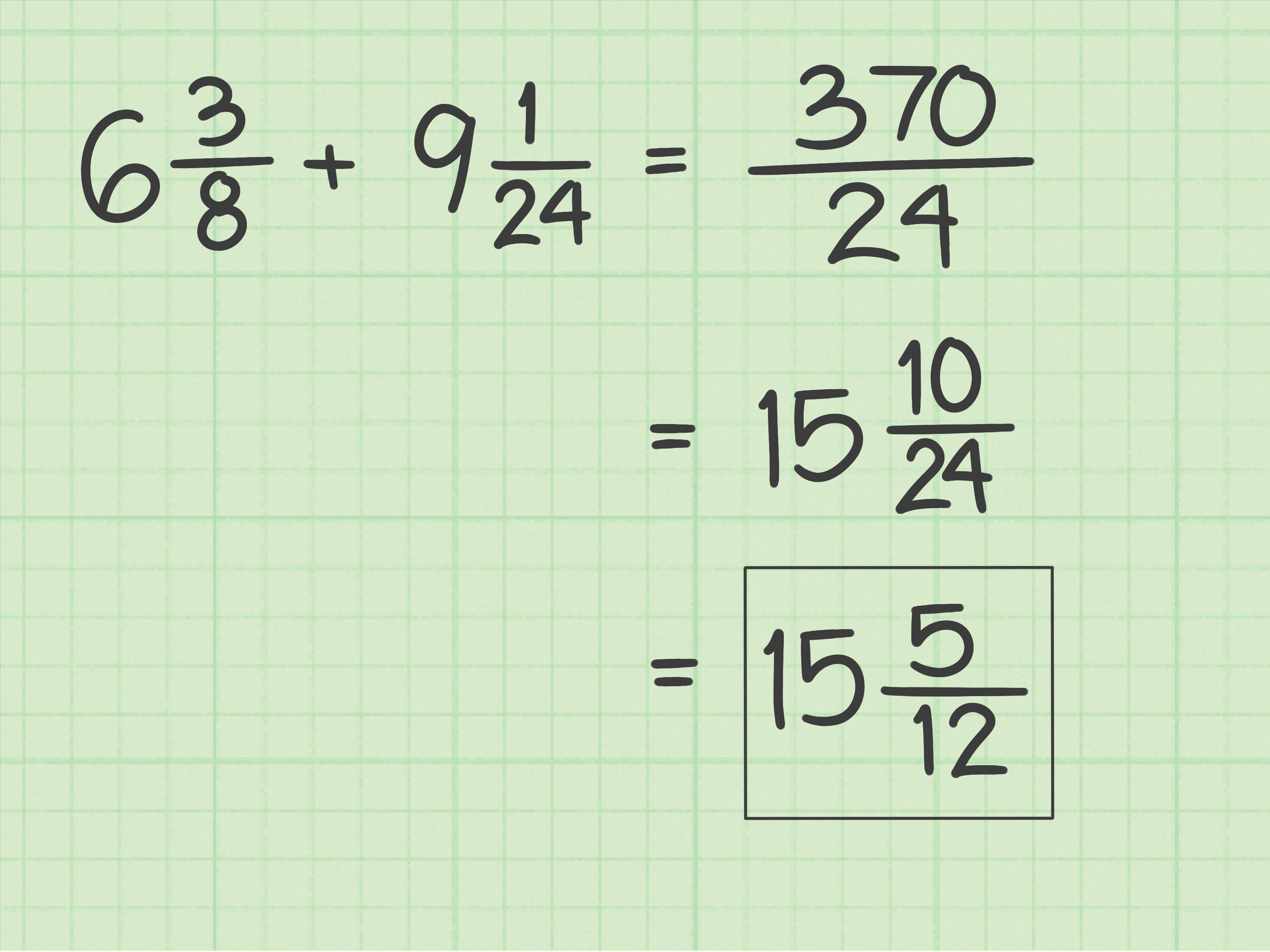 How To Add Fractions With Unlike Denominators 11 Steps
