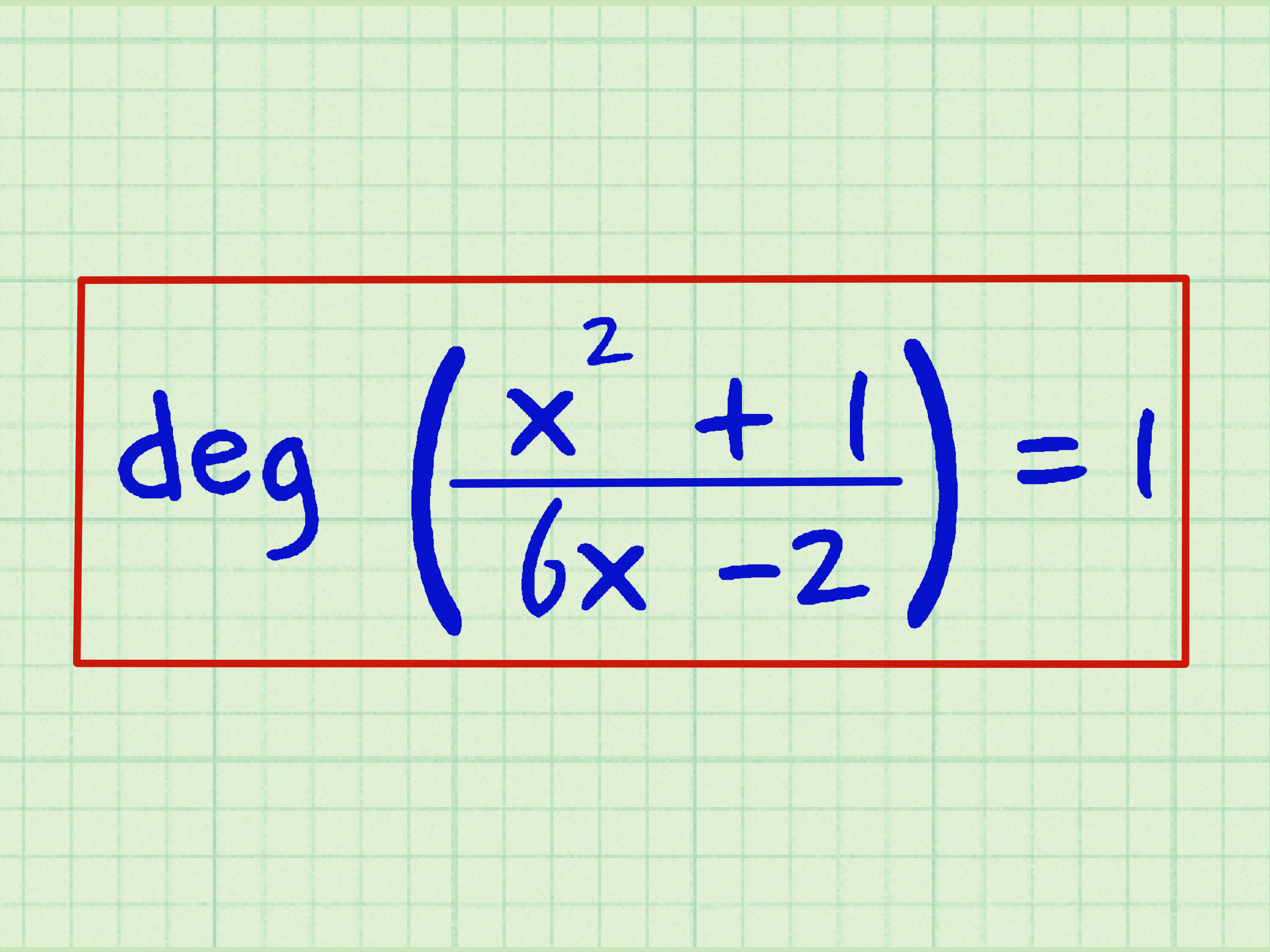 How To Find The Degree Of A Polynomial 14 Steps With