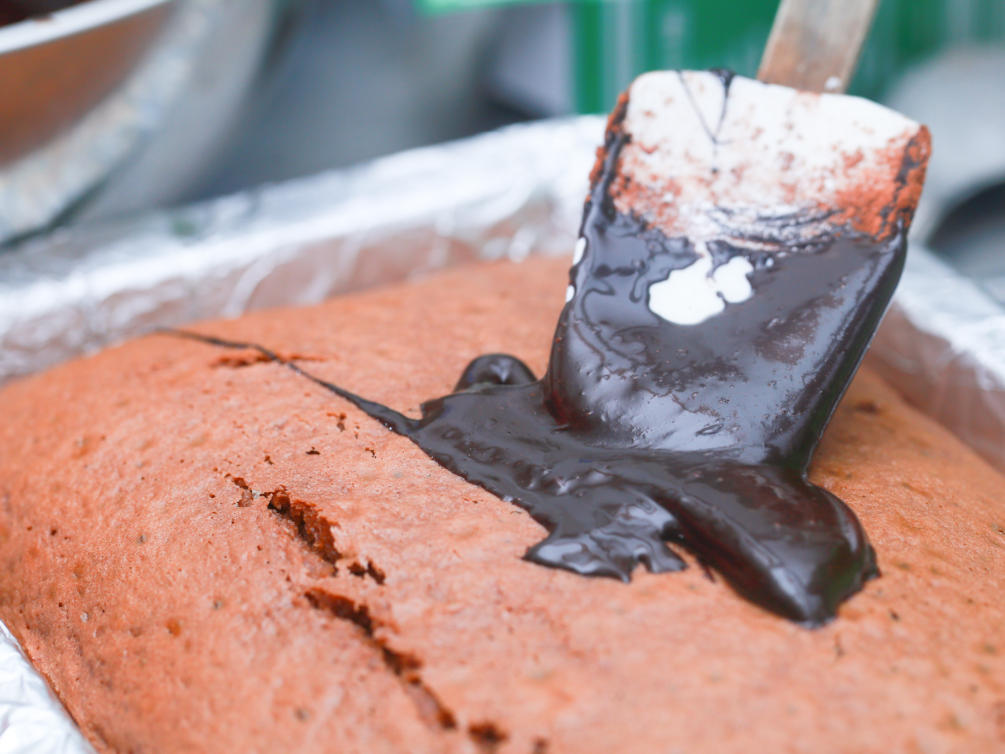 How To Make Eggless Chocolate Cake 10 Steps With Pictures