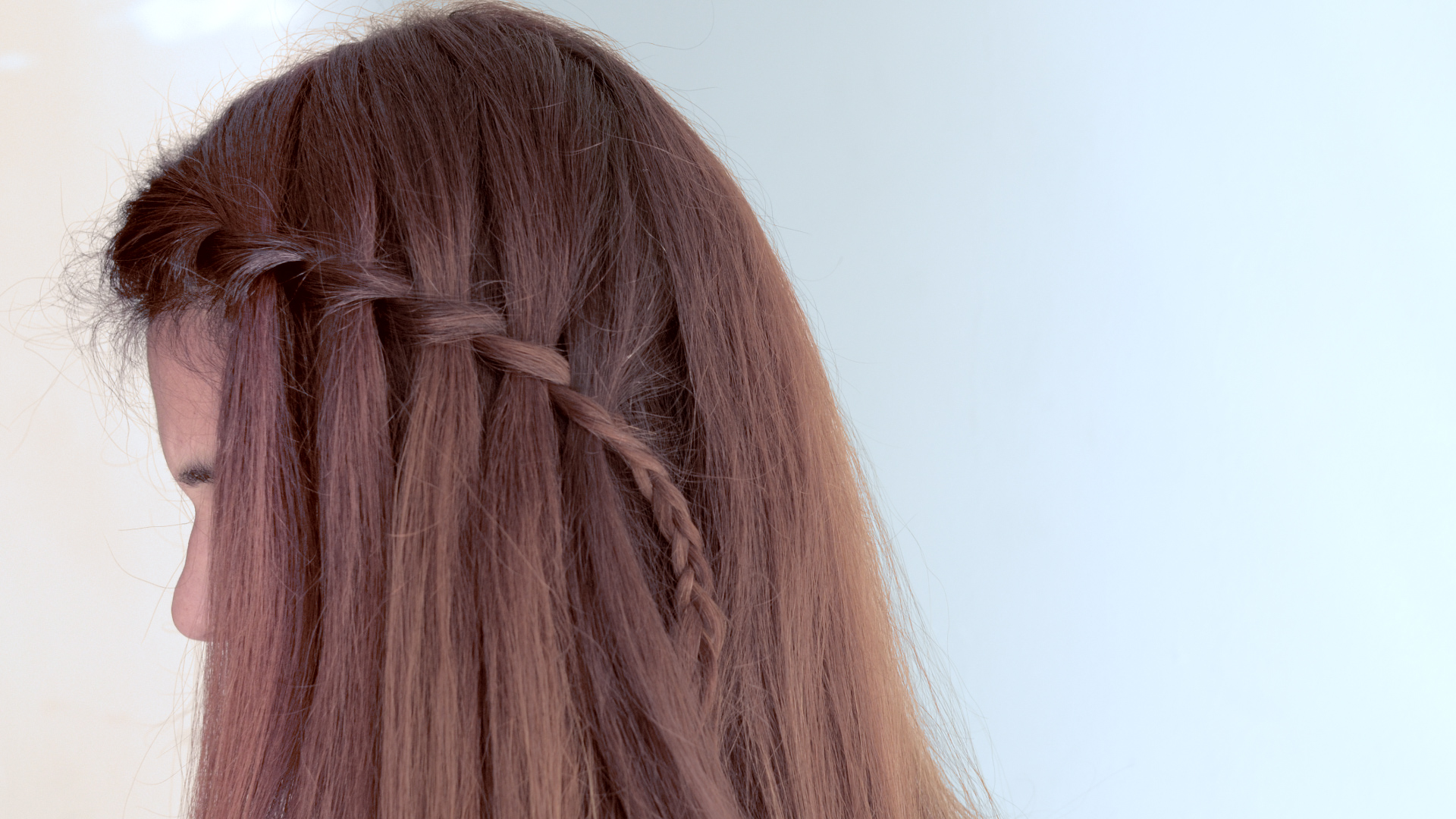 How To Make A Cascade Waterfall Braid 10 Steps With