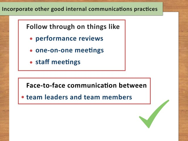 How to Write an Internal Communications Plan (with Pictures)