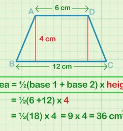How to Calculate the Area of a Trapezoid: 8 Steps (with Pictures) [ 2400 x 3200 Pixel ]