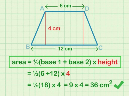 small resolution of How to Calculate the Area of a Trapezoid: 8 Steps (with Pictures)