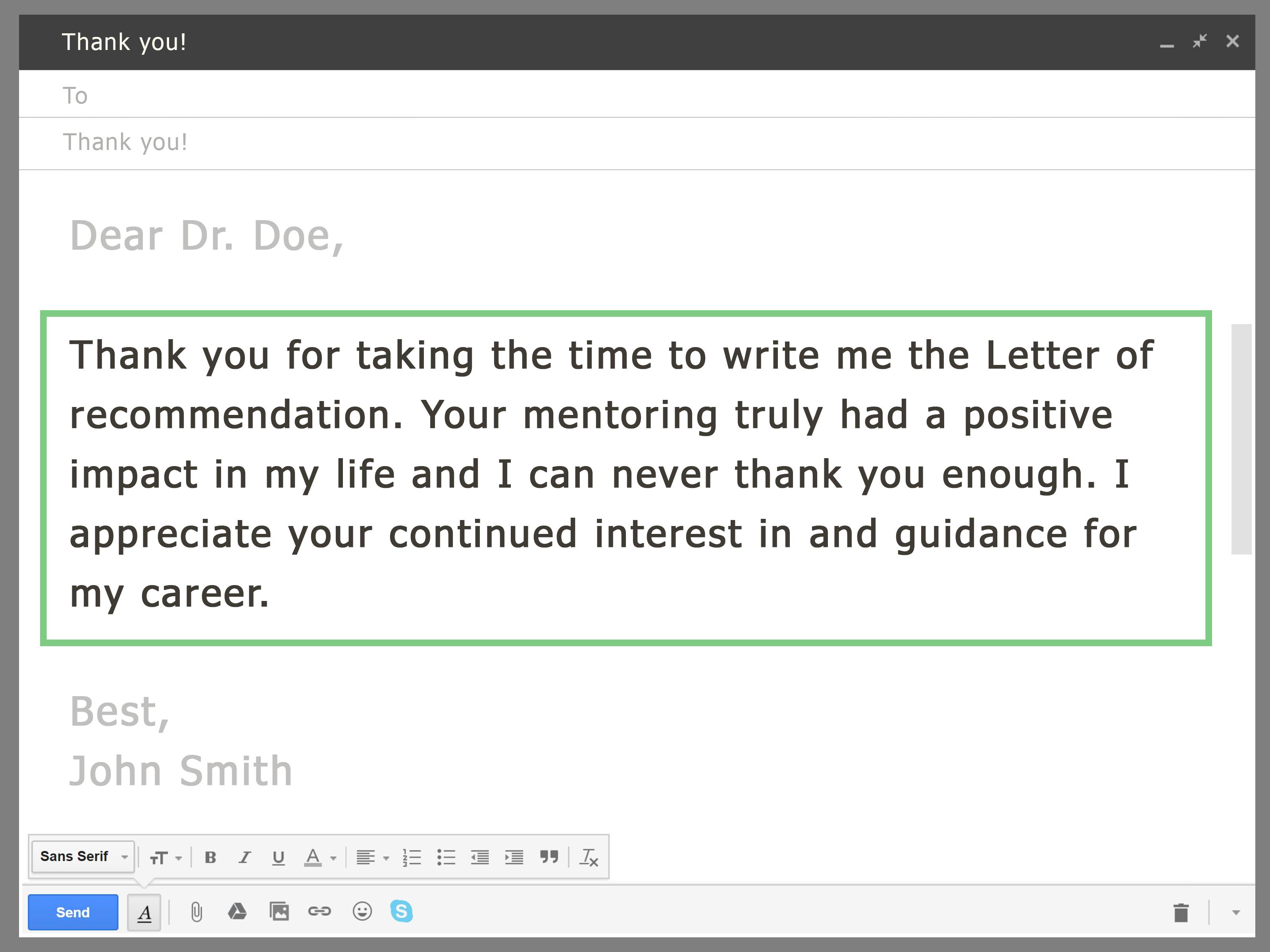 كيفية طلب خطاب توصية من أستاذك عبر البريد الإلكتروني