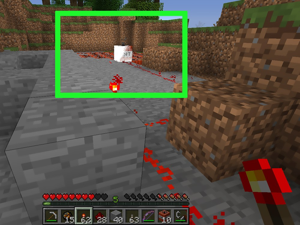 medium resolution of how to blow up tnt in minecraft