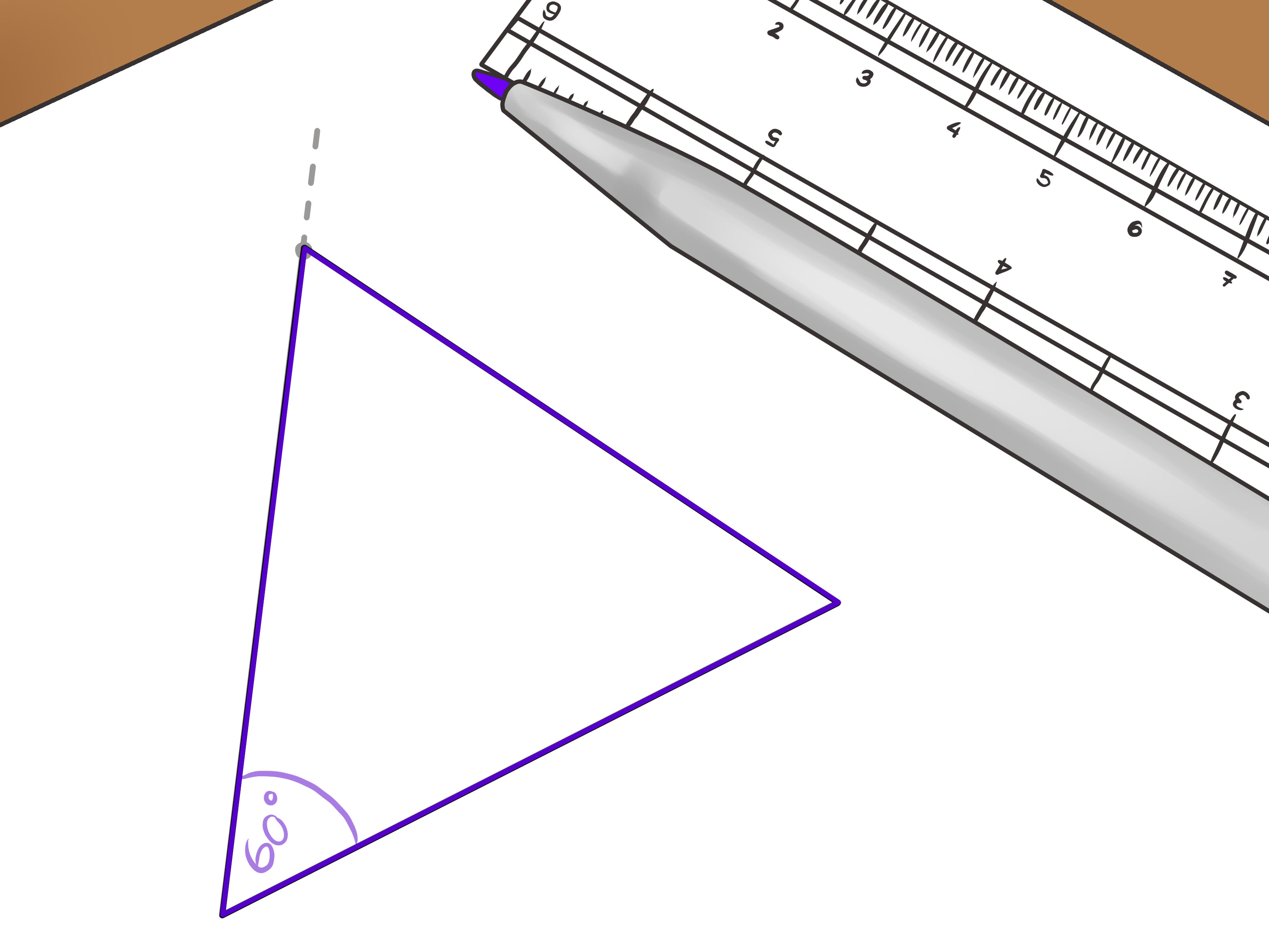3 Ways To Draw An Equilateral Triangle