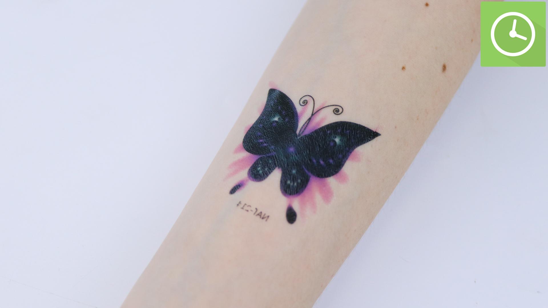Cómo Poner Un Tatuaje Temporal 15 Pasos Con Fotos