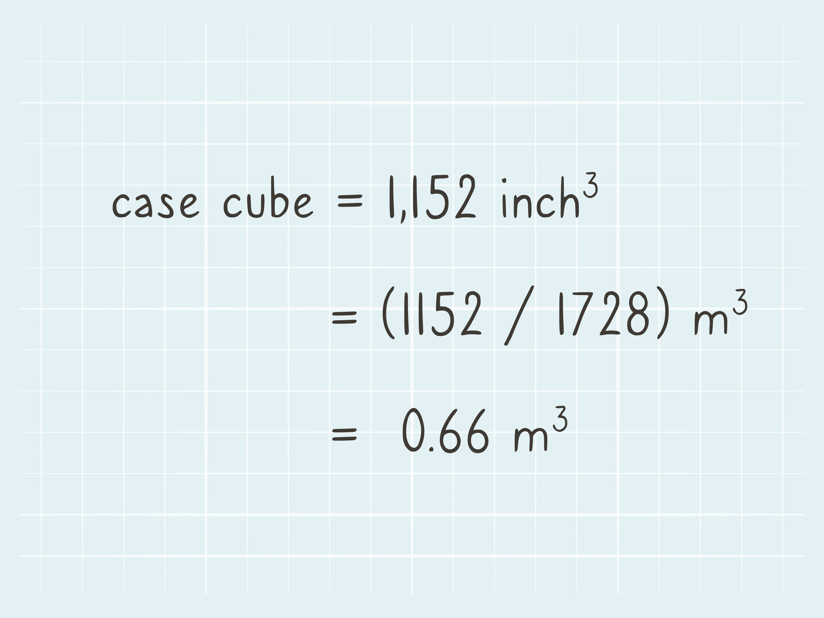 How To Calculate The Case Cube Of A Box 3 Steps With