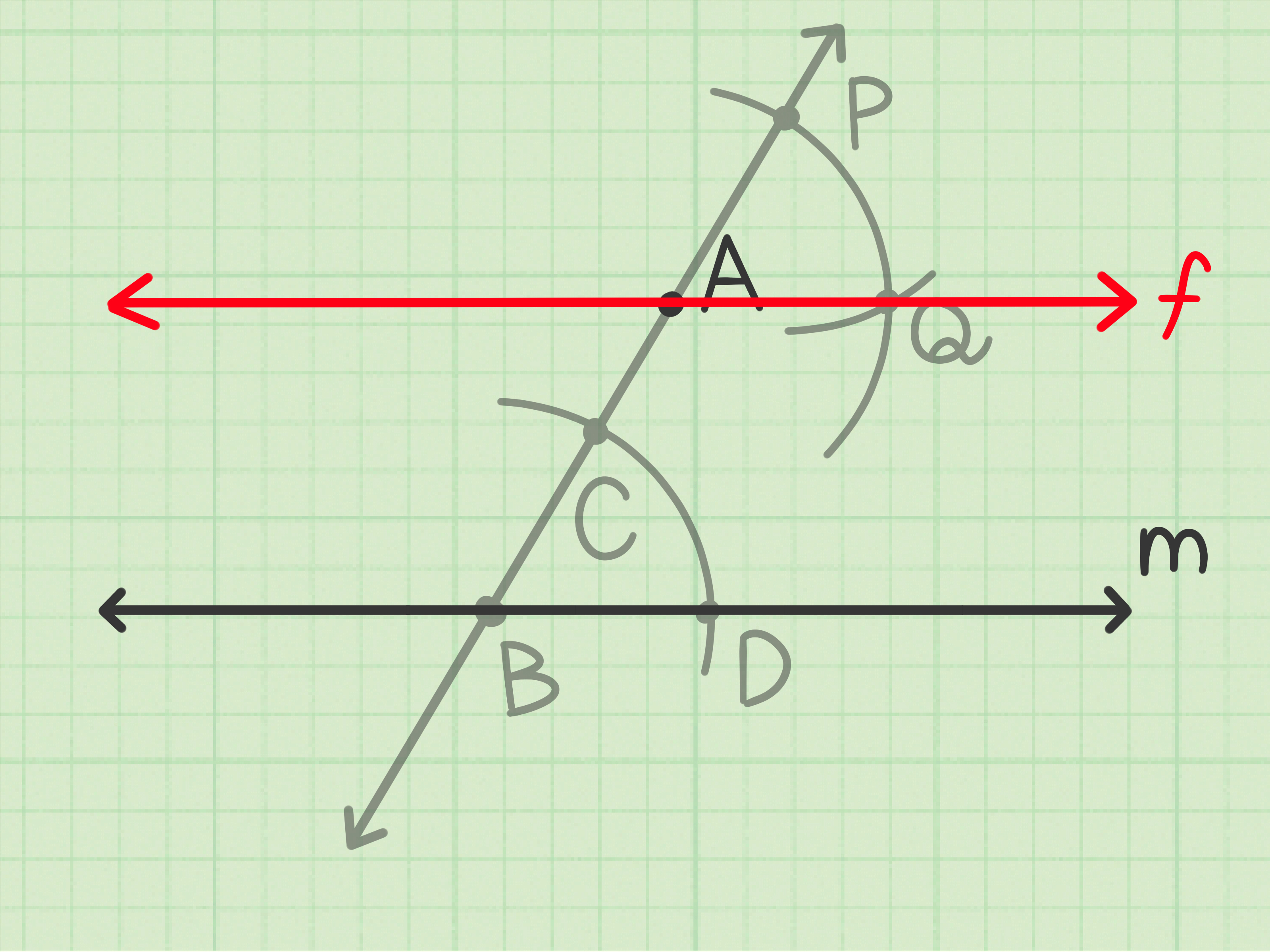 3 Ways To Construct A Line Parallel To A Given Line