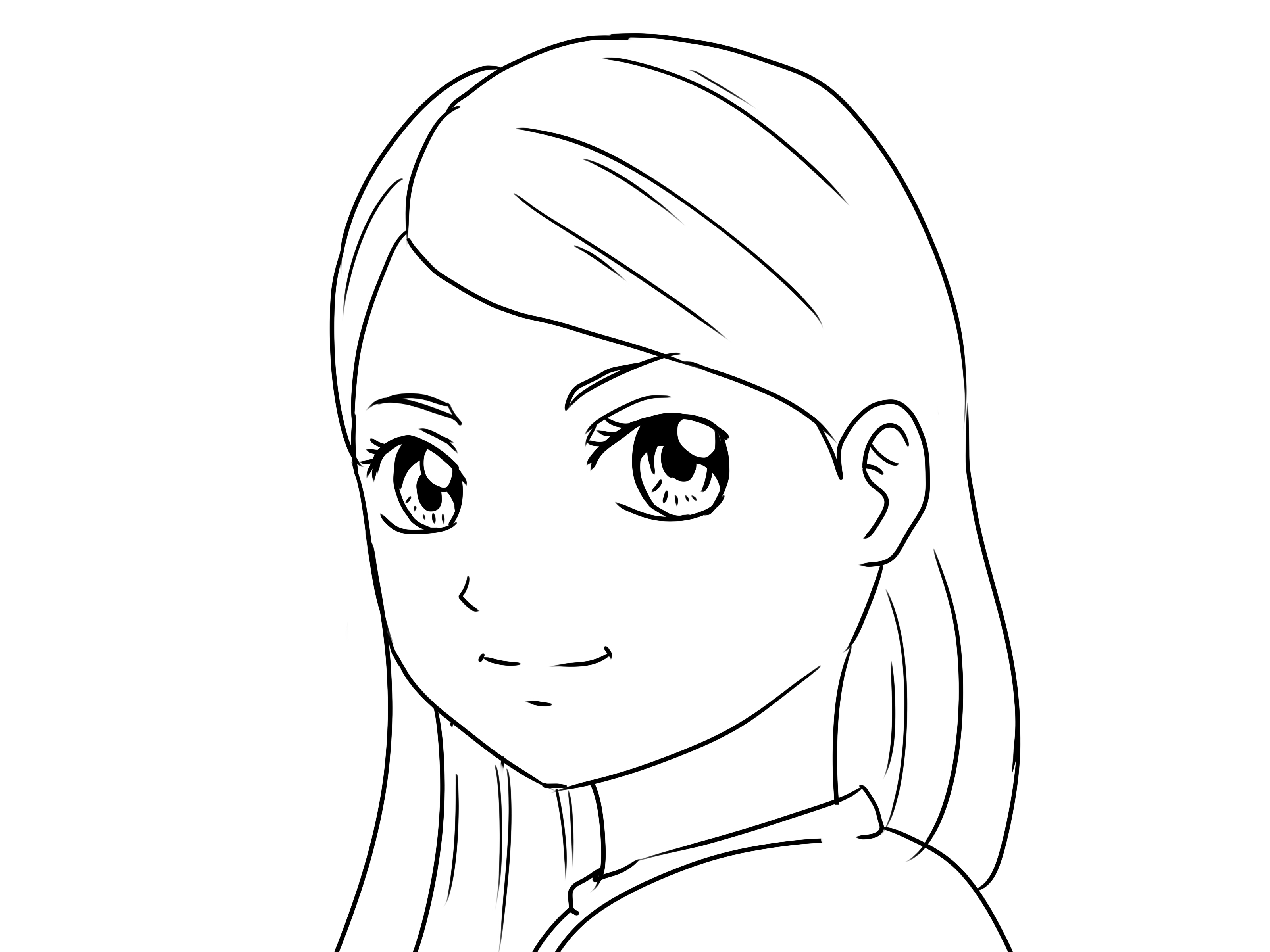 How to Draw Yourself As a Manga Girl/Boy: 12 Steps (with