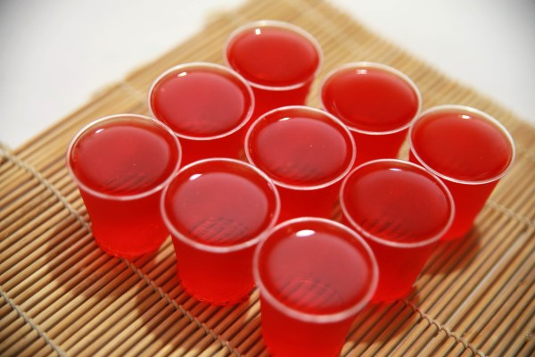 Make Strawberry Daiquiri Jello Shots 6 Steps