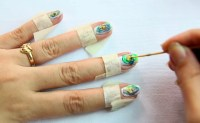 How to Do Easy Nail Art with a Toothpick for Beginners: 11