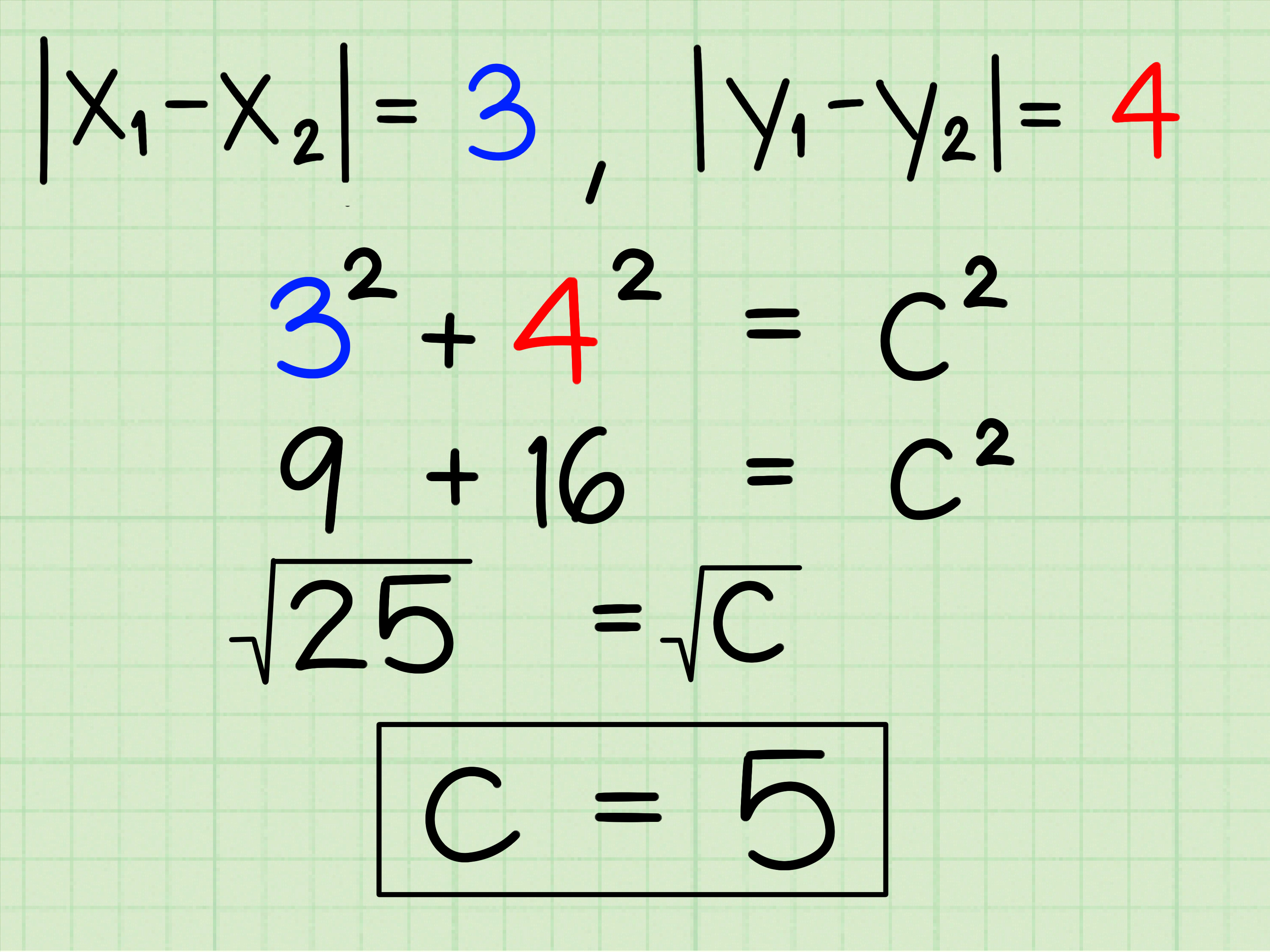 How To Use The Pythagorean Theorem 12 Steps With Pictures