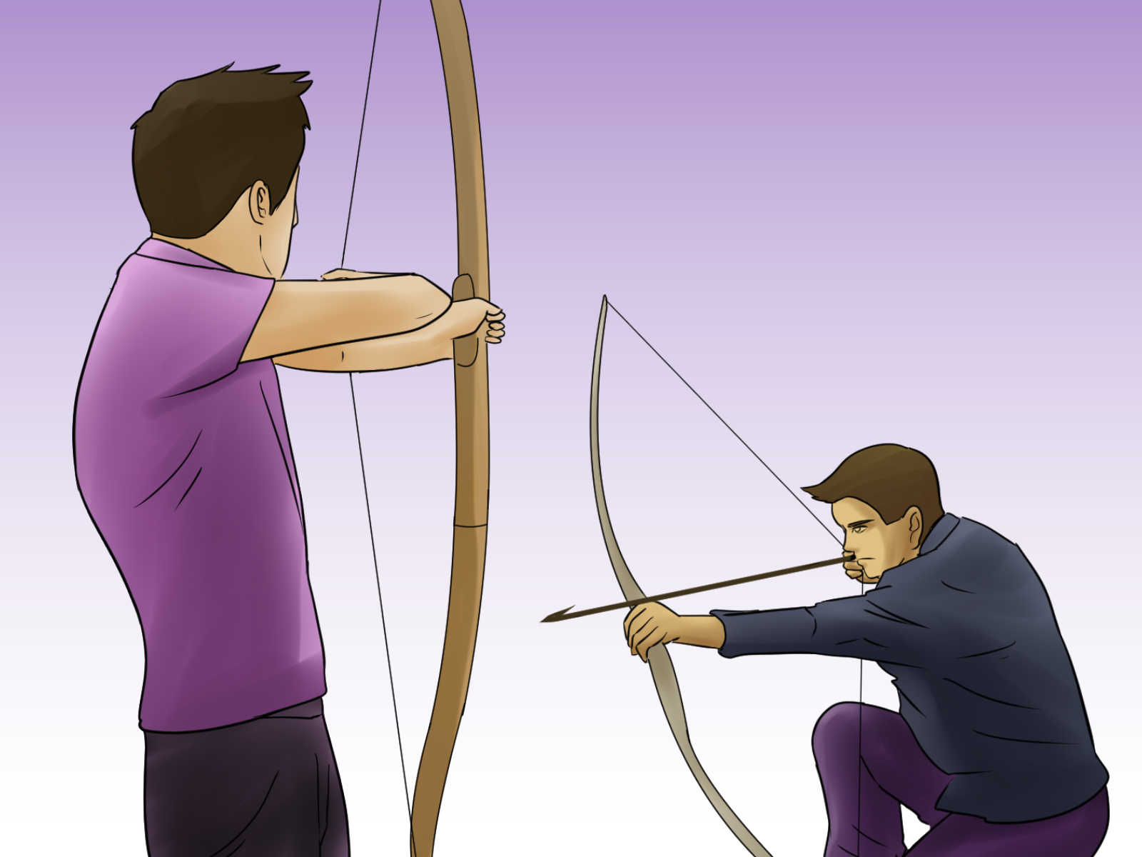 hight resolution of how to start archery