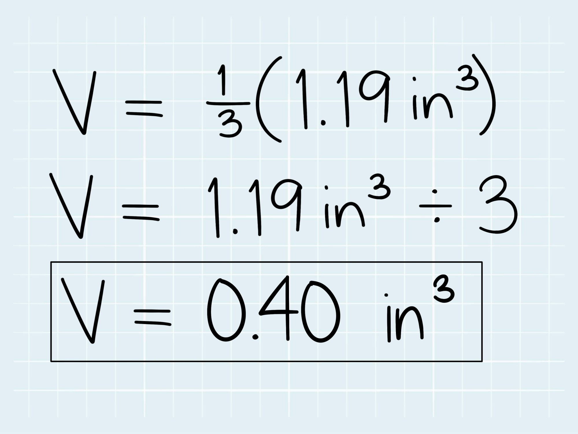 hight resolution of How to Calculate the Volume of a Cone: 5 Steps (with Pictures)