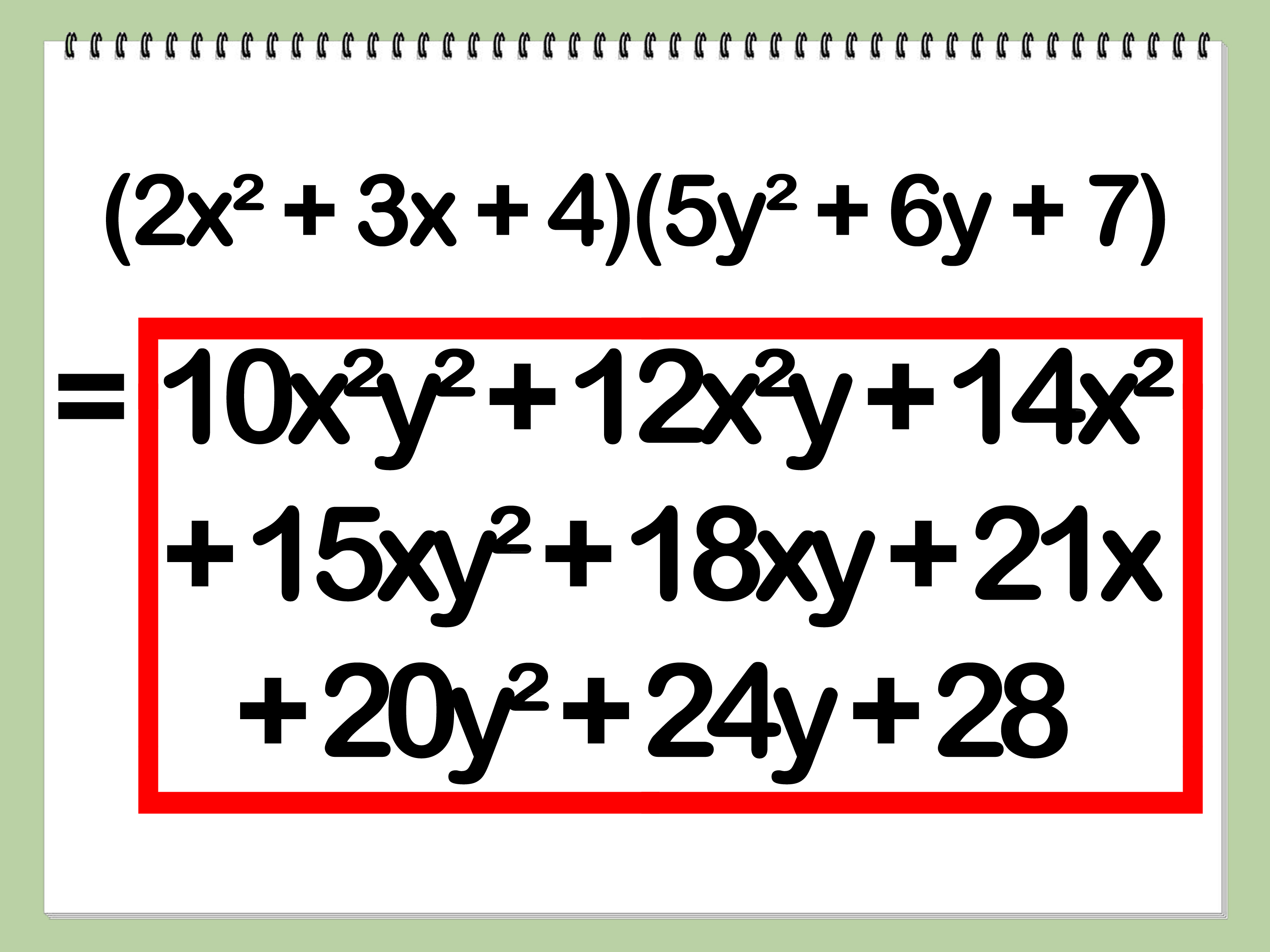 5 Ways To Multiply Polynomials